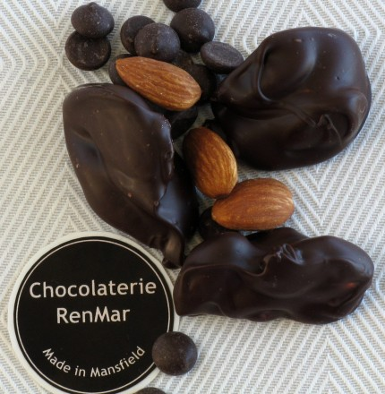 Dark Chocolate Almond Clusters