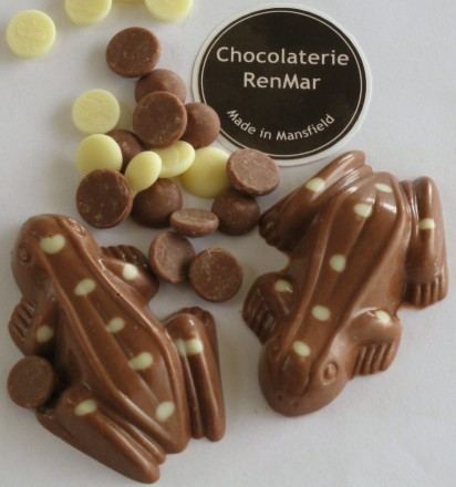Spotted Milk Chocolate Frogs