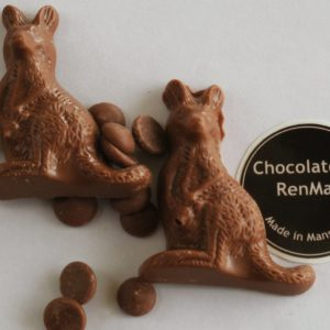 3 Pack Cute Milk Chocolate Kangaroos
