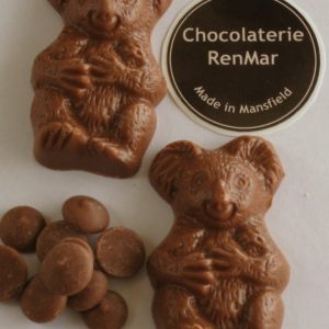3 Pack Adorable Milk Chocolate Koalas