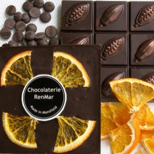 Divine Orange 95g Slab in 70% Dark Chocolate