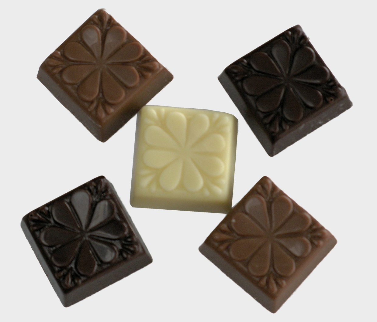 Clover leaf chocolates